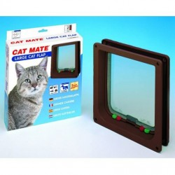 Cat Mate 221B Large Cat Flap - Brown