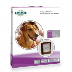 Staywell 755 Medium Pet Door - Brown